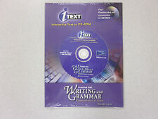 %Prentice Hall Writing and Grammar bronze CD-ROM text NEW 0130530492