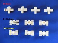 10 Klammern Clips für Zierleiste Stoßleiste Einstieg BMW NK E9 E12 E23 E24