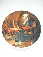 Vintage plate Knowles Reflections 1st limited edit Norman Rockwell Mother's Day