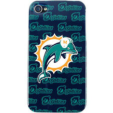 MIAMI DOLPHINS APPLE iPHONE 4 4S FACEPLATE BACK PROTECTOR SNAP COVER CASE