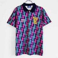 1991-93 Scotland Away 2 Retro Soccer Jersey