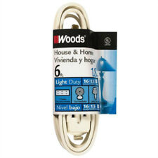 Woods 0600W 3 outlet, 6 ft. Indoor Extension Cord