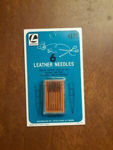 LYNTEX 6 Leather Needles Size No. 18 Style 15×1