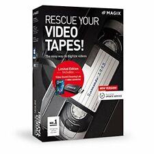 Rescue Your Videotapes - Version 9 - Digitizing VHS Video Cassettes - MAGIX