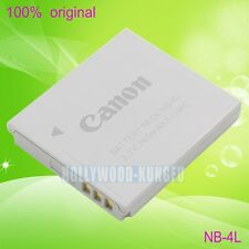 Genuine Original Canon NB-4L NB4L Battery For IXUS80 100IS 110IS 220HS CB-2LVE