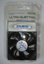ZALMAN ZM-F1 Plus 80mm ULTRA QUIET FAN, 4 silicon pins, *FREE SHIPPING*