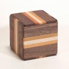Nuevo 18 pasos Karakuri Truco Cubo Japonés Caja Puzzle Rompecabezas de Madera yosegi
