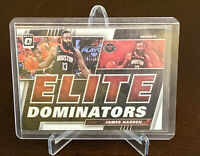 2019 - 2020 Donruss Optic James Harden Elite Dominators Insert Houston Rockets