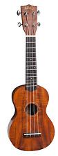 Mahalo U400 Acacia Series Soprano Ukulele with Acacia Body and Aquila Strings