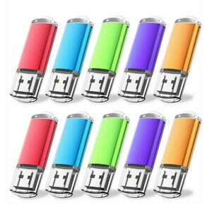 5/ 10 Stück 1G 2G 4G 8G 16G 32G 64G USB 2.0 Stick Speicher Memory Thumb Stick DE