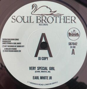 EARL WHITE JR VERY SPECIAL GIRL Soul Northern Motown