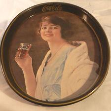 VINTAGE OVAL COCA COLA TRAY COKE SODA FOUNTAIN 1970'S DINER