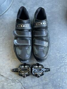 Time Alium Bike Bicycle pedals with Sette mountain shoes size 44