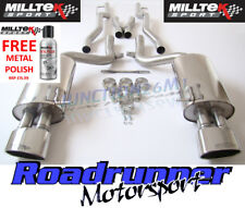 Audi RS4 B7 Milltek exhaust CAT BACK non Res (non-rhabditiforme) Poli Tips SSXAU117