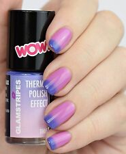 THERMO POLISH EFFECT NAIL COLOR CHANGING - VIOLET TO ROSE - NON UV - 5005