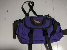Vintage 90s L.L. Bean Multipurpose Heavyweight Fanny Pack Travel Bag USA