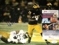 Hassan Haskins Michigan Wolverines Signed 8x10 Autographed Photo Coa Jsa N1