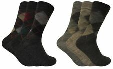 Acrylic Argyle, Diamond Socks for Men