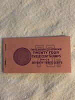 U.S. Booklet #105, 1954, 3 cent Liberty, MNH, BK105
