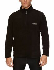 Regatta RMA021 Thompson Men's Half-zip Fleece Jacket - Black