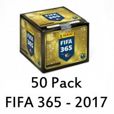 2017 PANINI FIFA 365 SOCCER STICKERS 50 PACKS IN SEALED BOX