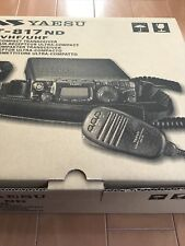 FT-817ND  YAESU Portable Amateur radio HF~144/430MHz All mode new japan f/s
