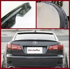 Carbon Fiber 06-13 LEXUS IS250 IS350 ISF Sedan OE Type Trunk Spoiler Boot Wing