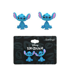 "Disney Lilo & Stitch Earrings Blue Feature Front and Back ""Stitch"" Body"
