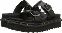 Dr. Martens Men's Shoes Myles Leather Leather Slip On, Black Brando, Size 9.0 9N