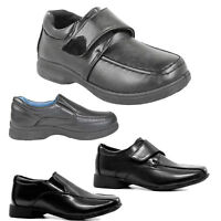 CHILDRENS BACK TO SCHOOL SHOES BOY CASUAL FORMAL SMART WEDDING PARTY DRESS BOOTS