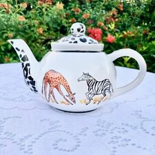 Safari Teapot by Anthony Mark Hankins Limited Edition #782