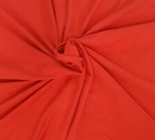 Bamboo Cotton Lycra Fabric Jersey Knit by the Yard Paprika 4 Way Stretch 6/17