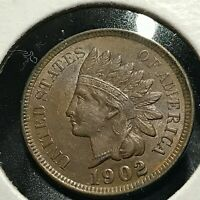 1902 INDIAN HEAD CENT NICE UNCIRCULATED  COIN