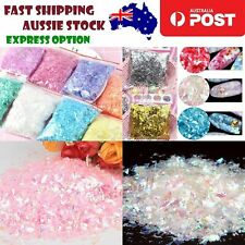 Holographic Nail Decoration Flakes Glitter DIY Nail Art 3D Sequin