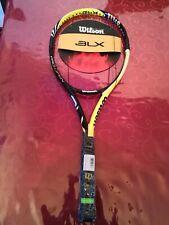 NEW Wilson BLX Pro OPEN 100 head 4 3/8 GRIP Tennis Racquet