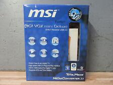 DVB-T Receiver + USB 2.0 + Stick MSI Digi Vox mini Deluxe + in OVP