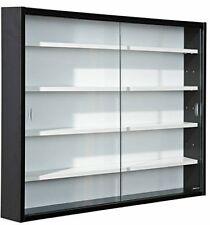 Collectors Wall Mounted Glass Display Cabinet Modern Design