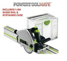 Festool TS55 REQ-PLUS 561584 110V Plunge Saw with 1.4m Guide Rail and Systainer