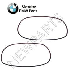 NEW BMW E60 525i 535i Pair Set of Rear Left and Right Door Seal On Door Genuine
