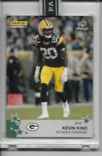2019 Panini Instant Green Bay Packers Playoffs KEVIN KING green 5/10 RARE