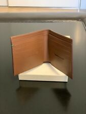 NEW Rolex Bifold Italian Leather Wallet Brown Very Limited