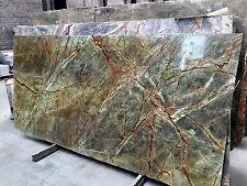 Tischplatte Arbeitsplatte Naturstein Marmor Granit grün Abdeckung Steinplatte