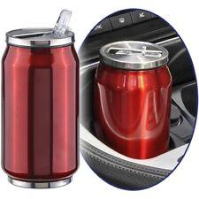 Stainless Steel Car Mug Insulating Mug Thermo Cup Mug Coffee Cup 300 ML Red