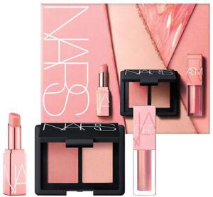 NIB Nars Orgasm Fantasy Trio Blush Highlighter Duo + Mini Balm and Oil Lip Tint