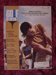 GOLF Digest magazine November 1965 GARY PLAYER Carolyn Meyer Beverly Klass