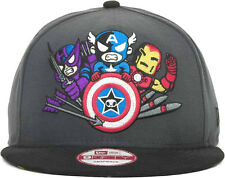 TOKIDOKI NEW ERA Marvel Avengers MAD Hawkeye Captain Iron Man Snapback Cap Hat