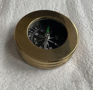 HEAVY DUTY Pocket Brass Compass HIKING, SCOUTS, ADVENTURE CLIMBING