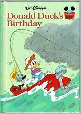 Disney's Wonderful World Of Reading Book ~ DONALD DUCK'S BIRTHDAY