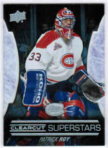 15/16 2015 UD SERIES 2 PATRICK ROY CCS-57 CLEARCUT SUPERSTARS MONTREAL CANADIENS