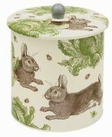 Thornback and Peel Biscuit Barrel Storage Tin Caddies Caddy  Rabbit
